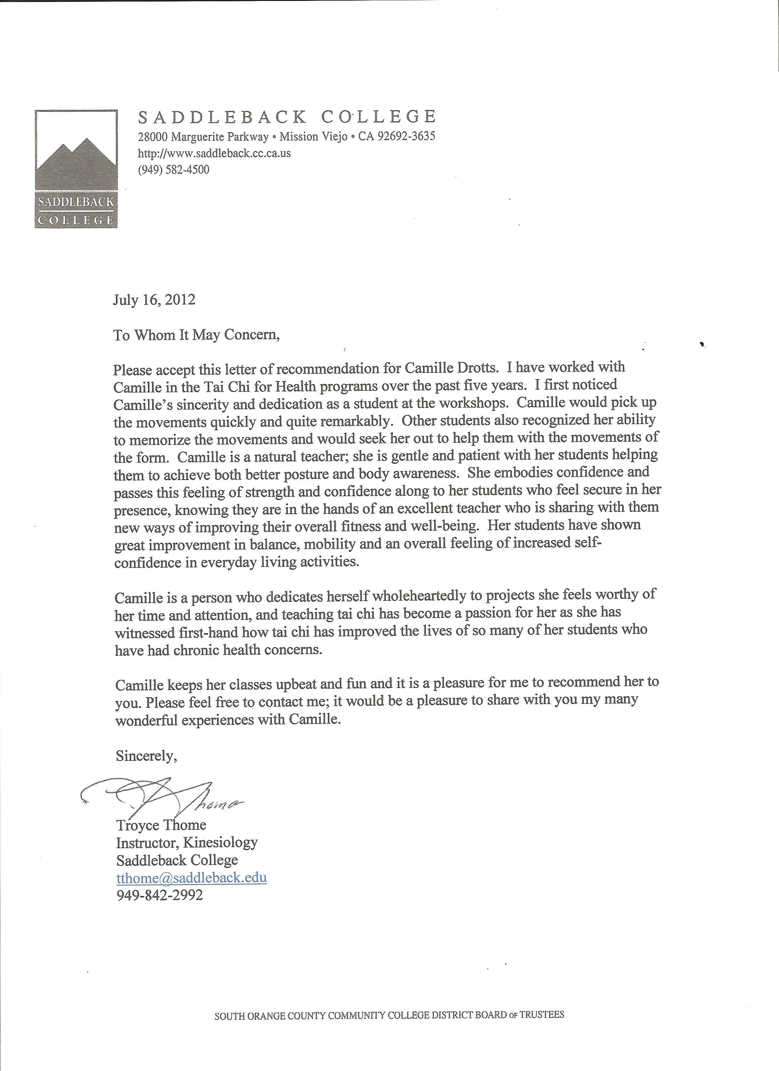 Tips for Writing a Genuine and Powerful College Recommendation Letter